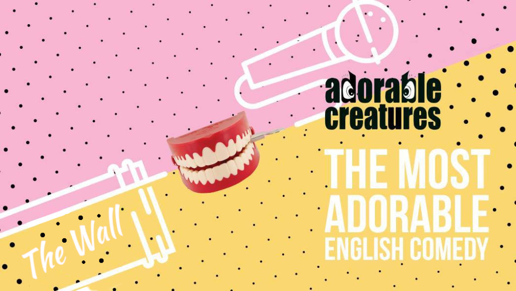Adorable Creatures – English Language Comedy Show			Friedrichshain 								Fri Feb 28 @ 9:00 pm - 11:00 pm|Recurring Event (See all)An event every week that begins at 9:00 pm on Friday, repeating until Fri May 29, 2020