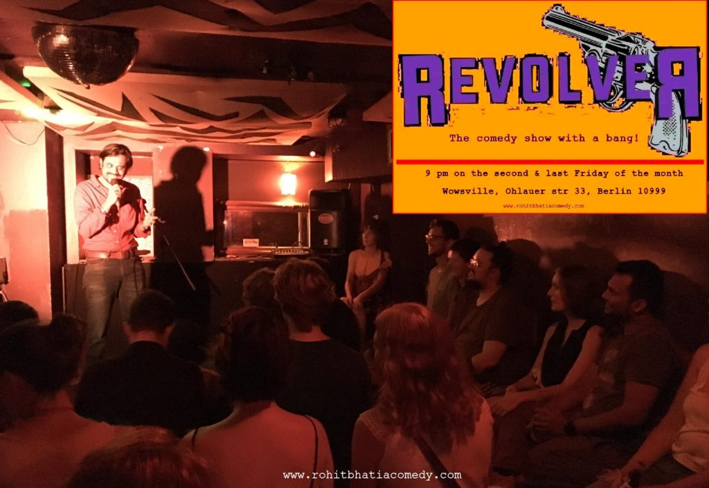 ✱ Revolver Comedy ✱			Kreuzberg 								Fri Feb 28 @ 9:00 pm - 11:00 pm|Recurring Event (See all)An event every month that begins at 9:00 pm on day Last of the month, repeating until Fri Jun 26, 2020