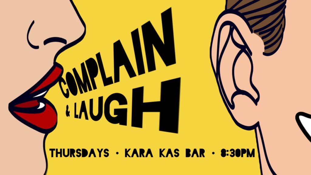Сomplain & Laugh – Free Entry Comedy Show!Schöneberg Thu Oct 29 @ 8:30 pm - 11:00 pm|Recurring Event (See all)An eve...