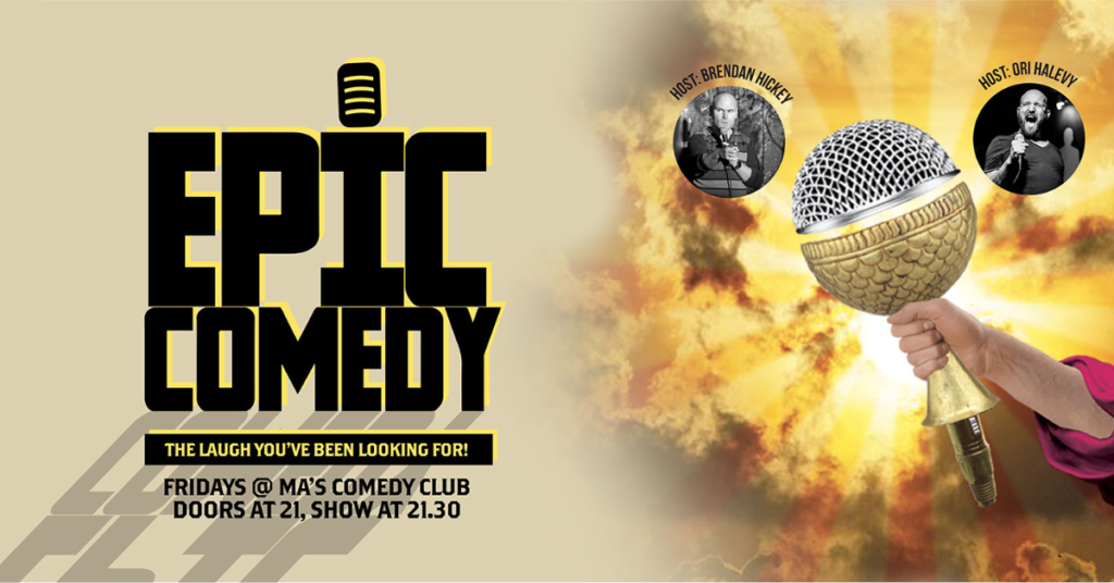 Epic Comedy Showcase Mitte  Fri Jun 18 @ 9:00 pm - 11:00 pm|Recurring Event (See all)An event every week that begins...
