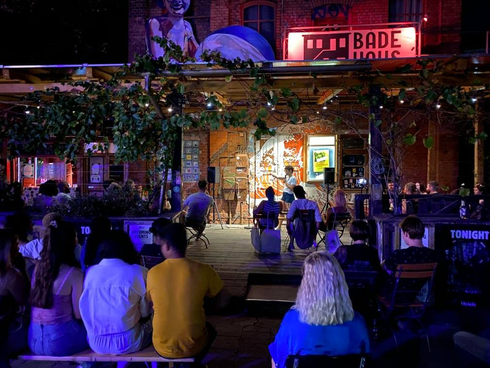 On Fire! Comedy & Poetry! Neukölln  Fri Oct 15 @ 7:30 pm - 10:00 pm Recurring Event (See all)An event every week tha...