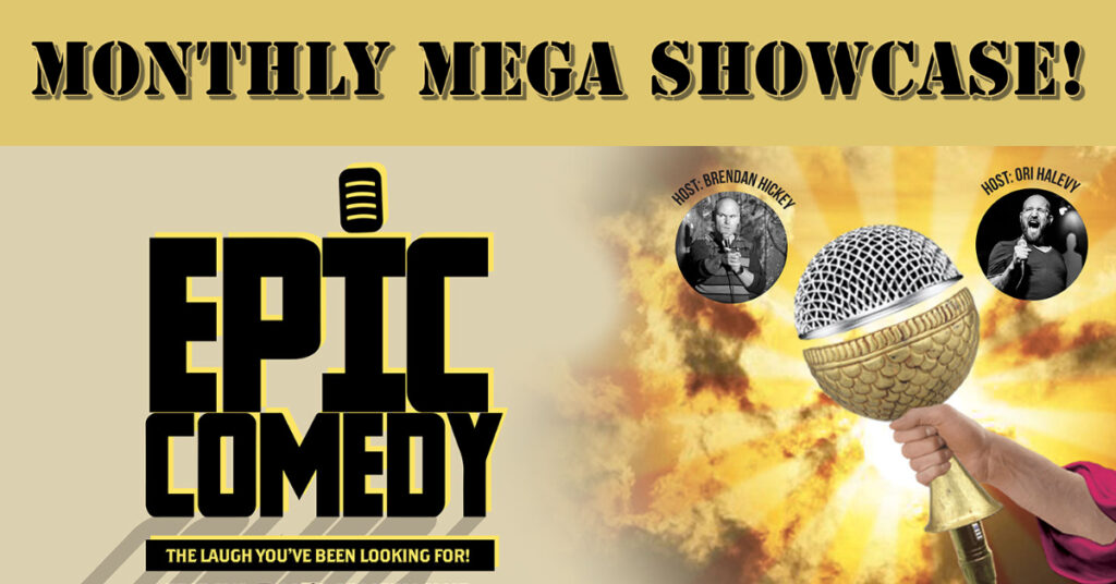 The Epic Comedy Showcase Mitte  Fri Oct 15 @ 7:59 pm - 11:00 pm Recurring Event (See all)An event every week that be...