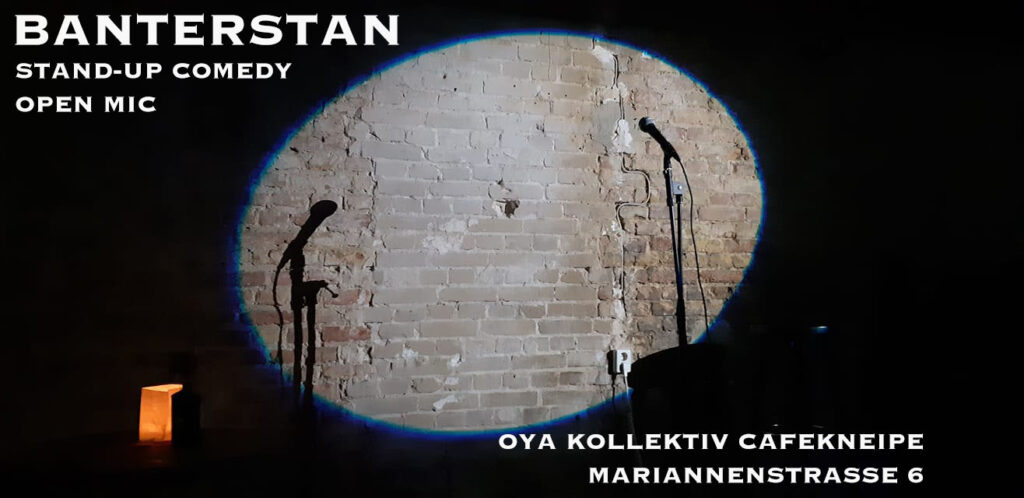 Banterstan Stand-Up Comedy Open Mic  Tue Sep 21 @ 7:00 pm - 10:00 pm
