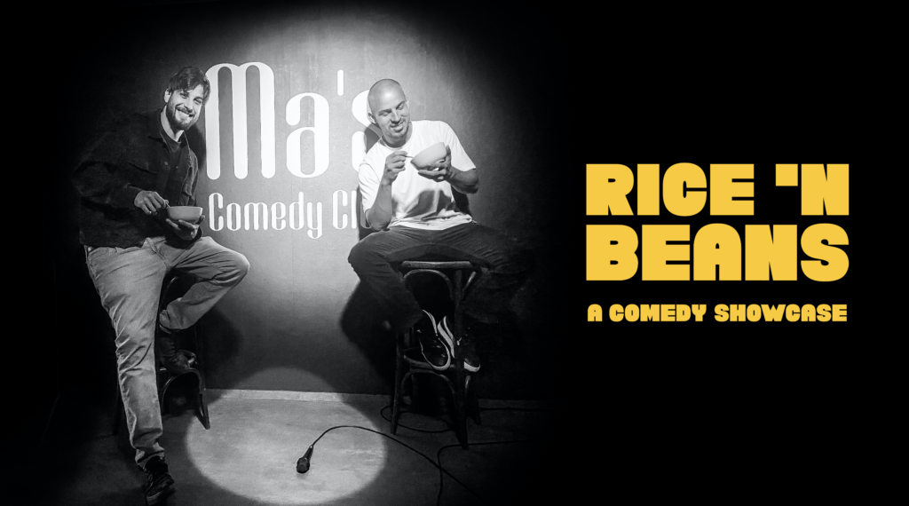 RICE 'N BEANS comedy showcase Mitte  Mon Oct 11 @ 8:00 pm - 10:00 pm